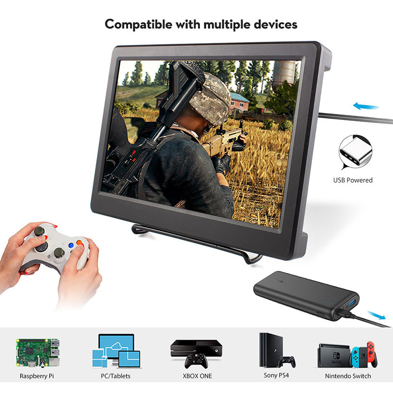 10.1-Inch-2K-IPS-2560x1600-Monitor-with-Built-in-Speaker-for-Raspberry-Pi-23B3B+-PS4-XBOX-Windows-2-Detail