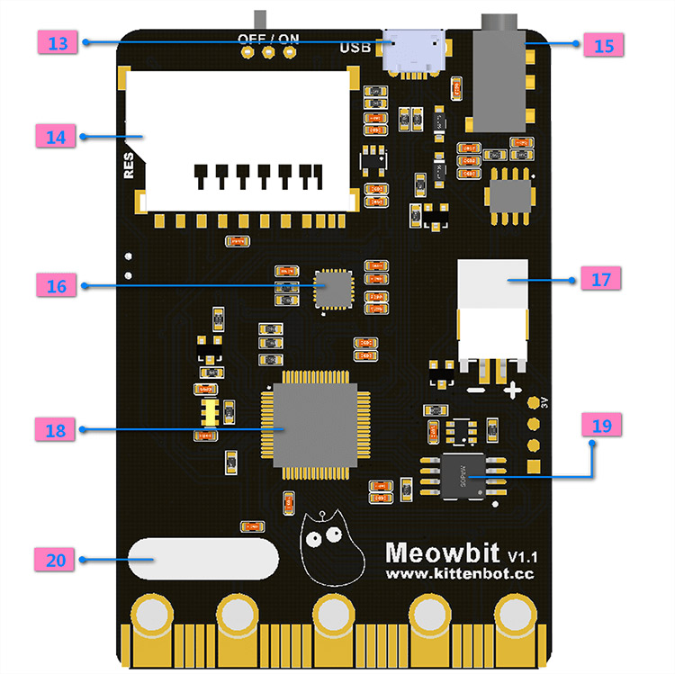 Meowbit-Codable-Console-for-Microsoft-Makecode-Arcade-4-Detail