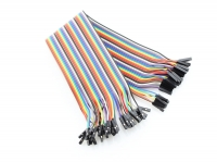 40 Pin Dual Female Splittable Jumper Wire - 300mm