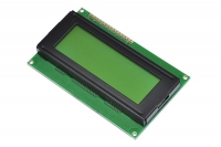 2004 20x4 Character LCD Module - Yellow Backlight