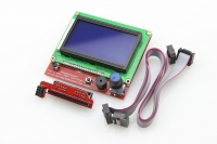 12864 Smart LCD Controller With Adapter For RepRap Ramps 1.4