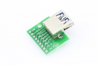 USB 3.0 Type-A Female Connector Breakout Board
