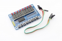TM1638 8 Digit Digitron Display with Button