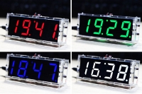 DIY EC1621 DS3231 Electronic Clock & Acrylic Shell Kit