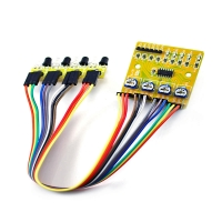 4-Way Infrared Sensor Smart Car Tracking Moudle