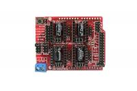 Arduino CNC Shield V3.51 - GRBL v0.9 compatible - Uses Pololu Drivers