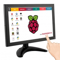 Elecrow RR101 10.1 Inch 1280x800 Portable Monitor Metal Shell IPS Screen with Touch Function for Raspberry Pi All-In-One PC