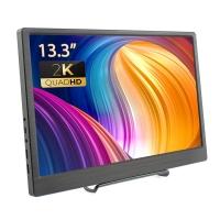 Elecrow MQ133 13.3 Inch 2K IPS 2560x1440 HD Display Dual Mini HDMI Port for Laptop PC PS4 WiiU Xbox Raspberry Pi 4B/3B+/3B