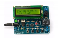 Programmable relay timer switch (PCB only)