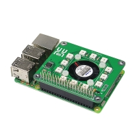 50% OFF! Raspberry Pi 3 Smart Temperature Fan/RGB LED/DS1302 Real Time Clock Hat Baord