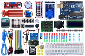 Leaper - Upgraded RFID& Stepper Driver Learning Kit for Arduino