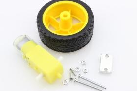 Micro DC Geared Motor Set