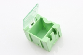 Small Size Components Storage Box - Green/ White/ Red/ Yellow