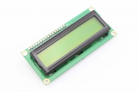 1602 16x2 Character LCD Display Module - Yellow/ Blue Backlight