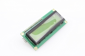 I2C 1602 LCD Display Module - Yellow/ Blue Backlight