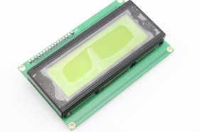 I2C 2004 LCD Module - Yellow/ Blue Backlight