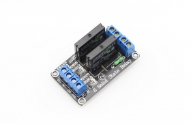 2-Channel Solid State Relay Module