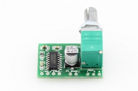 Audio Amplifier PAM8403 with Colume Control