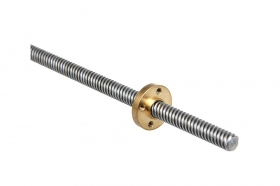 20% OFF! 3D Printer Z Axis Lead Screw Rod With Nut