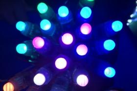 50pcs DC5V/ 12V 12mm WS2811 Pixel Node Smart LED