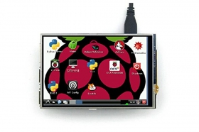 RC040 4 Inch HD 480x320 TFT Display with Touch Screen for Rapberry Pi