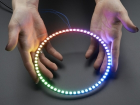 1/4 60 Ring - 5050 RGB LED with Integrated Drivers