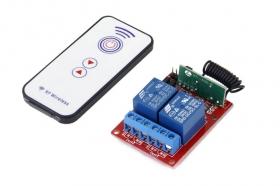 2 Channels RF Remote Control Module DC 5V
