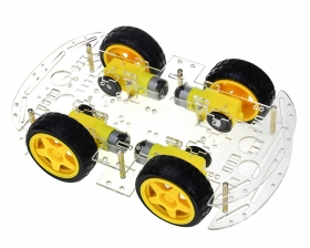 4WD Mobile Platform for Arduino Smart Robot Car