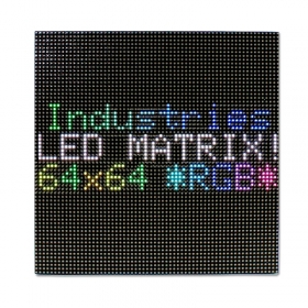 High Resolution P5 indoor 64X64 RGB LED Matrix Panel 2.5mm Pitch