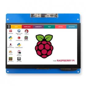 Elecrow RC070C 7inch Touch Screen Display 1024x600 Resolution with 2MP Camera for Raspberry Pi 2/3B/3B+/4B
