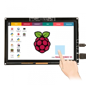 RC070M 7 inch 1024 X 600 Touch Screen Display with 720P Camera for Raspberry Pi/ MacBook Pro./ Windows 10