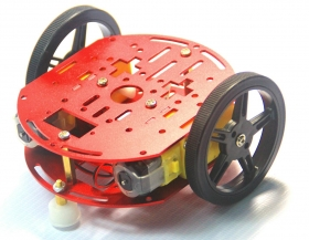 2WD Mini Smart Robot Mobile Platform Kit FT-DC-002