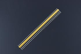 40Pin 2.54mm Male Header - Yellow/Blue/Black (5pcs pack)