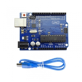 Elecrow UNO R3 Board ATmega328P ATMEGA16U2 with USB Cable for Arduino