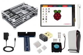 Elecrow Starter Kit for Raspberry Pi Model B+/ 2B/3B(with Power Supply)