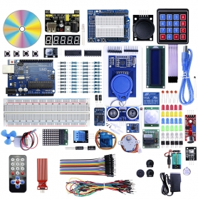 ELecrow UNO R3 Starter Kit with Mulity Modules for Arduino