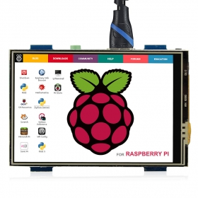 HDMI 3.5 inch 480 x 320 Resolution Touch Screen Monitor  for Raspberry Pi