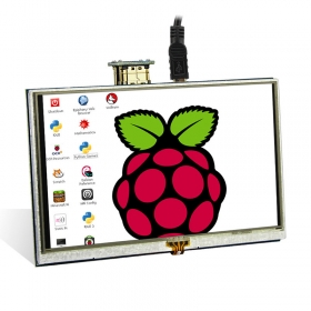 Elecrow RR050 HDMI 5 Inch 800x480 Resistive Touch Screen TFT Display for Raspberry Pi B+/2B/3B/4B