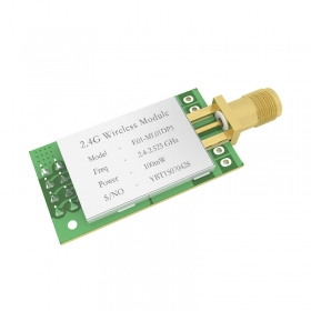 High Power 100mW 2.4G Wireless Transceiver Module RF Communication NRF24L01P+PA
