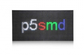 High Resolution P5 indoor SMD Full Color RGB LED Display Module