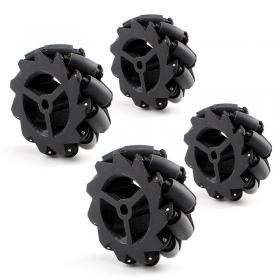 Mecanum Omnidirectional Wheel Kit 4pcs