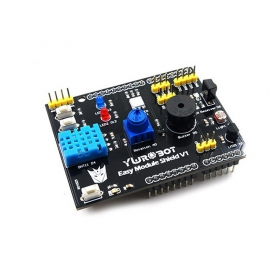 Multifunction DHT11 LM35 Temperature Humidity Easy Module Shield for Arduino UNO