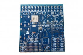 Dual Channel Inductive Loop Vehicle Detector - v1.2 PCB Board