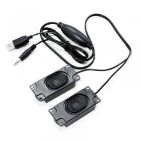 Raspberry Pi USB Free-drive Speaker