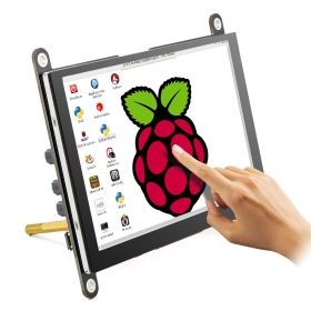 RC050S HDMI 5 Inch 800x480 Capacitive Touch Monitor Built-in Speaker with Backlight Control