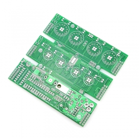 Warm Tube Clock v2 PCB Board