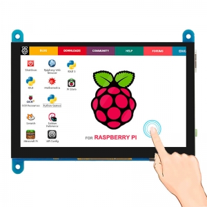 """7/"""" USB HDMI LCD Display Capacitive Touch Audio Output For Raspberry Pi Windows"""