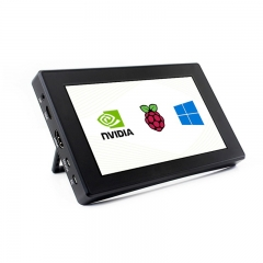 7inch 1024×600 HDMI Capacitive IPS Touch Screen Raspberry Pi Monitor with Case