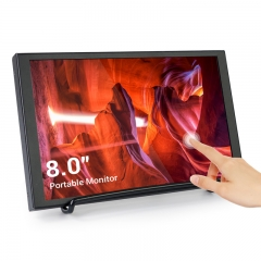 Elecrow SH080T 8 Inch Mini HDMI Portable LCD Display 1280x800 Resolution Monitor