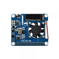 Power over Internet(POE) Hat for Raspberry Pi 4/3B+